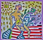 Harvest of Demeter (Tribute to Picasso) by PrimalExpression
