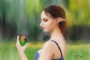 Elven Beauty Version 2 by Zachary0701