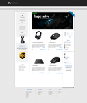 GamingStore Design - For Sale by pavlinovdesign