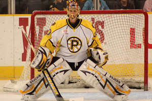 Goaltender Tuuka Rask by luckyb30