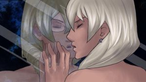 Kristoph x Klavier- Reflection by KarniMolly