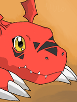Guilmon by AlucaarDD