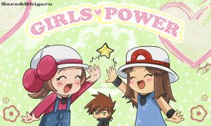 Girls power by sara by Sara-Sakurahime