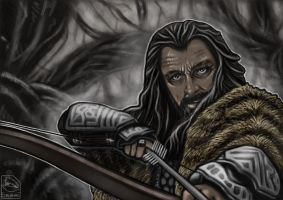 Thorin Oakenshield by Augala
