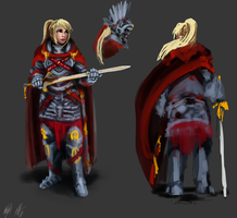 WIP: Lucetta - Judgment Gear by PeterPrime