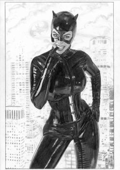 Catwoman by TimGrayson
