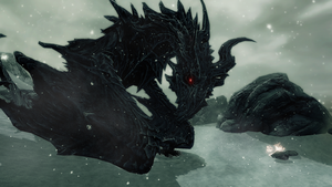 Alduin by bluesonic1