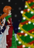 . : CdR Secret Santa - fensterite045 : . by Azuyasai