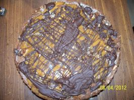 Another Shot of the Turtle Cheesecake by annieheart12
