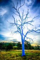 That There Bluest Tree by Ravensaura