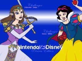 NvsD Zelda VS Snow White by lamarce