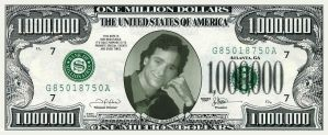 Bob Saget Million Dollar Bill by yoneboii
