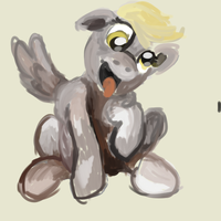 here's derpy by maybecatie