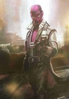 Unused Cocnept Art of Baron Zemo by Artlover67