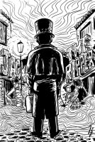 Jack the Ripper. by JoanGuardiet