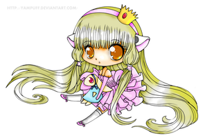Chibi!Chii - Chobits - Colorize by CattleyaH