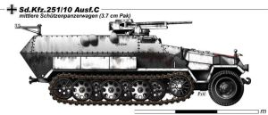 Sd.Kfz.251.10 Ausf.C by nicksikh