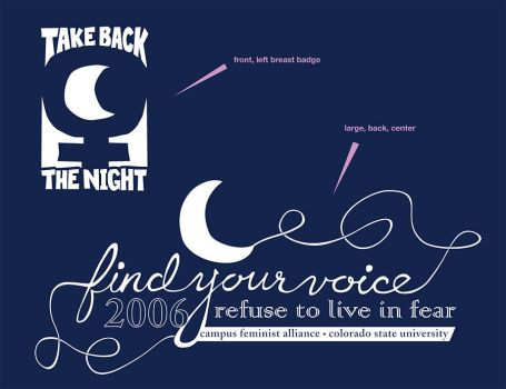 Take Back the Night - shirts by digitaldecay