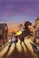 The Magic Tree House cover by bennyfuentes