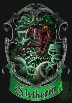 Slytherin Crest by Autlaw