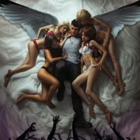 Dante and his Girls - DmC:Abandonad toda esperanza by Endless-ink