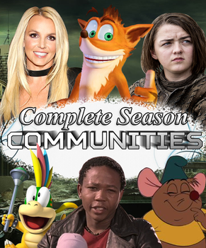 Communities DVD Cover by shadow0knight