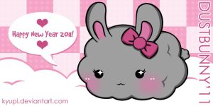 Happy New Year 2011 by kyupi