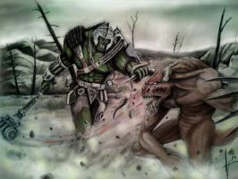 Fallout melee by HrvojeSilic