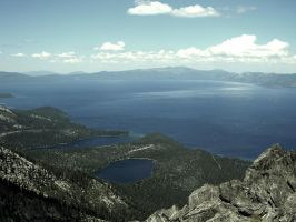 Tahoe from Tallac by snoboarderEm
