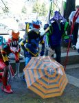 Anime North 2014 Evangelion Meet Eva Units #2 by Lightning--Baron