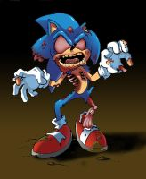 Zombie Sonic by JR343