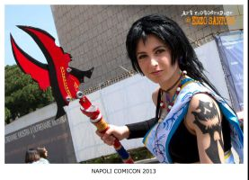 Fang Yun cosplay (Comicon 2013) by mikosplay