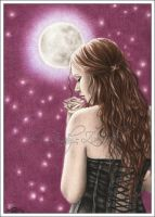 Moonlight Rose by Zindy