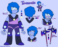Tanzanite by GhostyRaptor