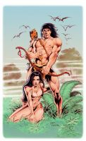 Tarzan At the Earth's Core by Tarzman