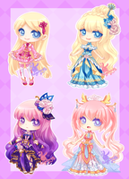 Berryiis Custom Adopts: NOT FOR SALE!! by RaineSeryn