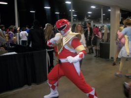 AnimeNext Red Power Ranger by PhoenyxAngel