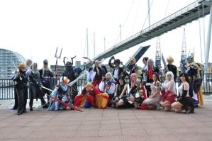 Final Fantasy Dissidia: Denizens Gather by ManticoreEX
