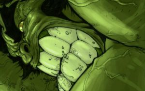 HULK scribbles desktop by jpm1023