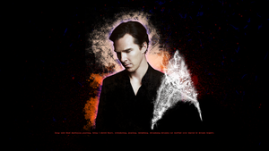Benedict Cumberbatch ''Star Trek'' Wallpaper by lieutenantsubtext
