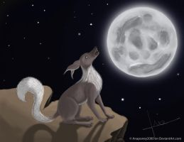 Wolf of the Night by Anaponey2000