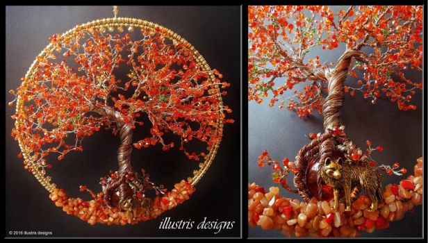 Immortelle tree of life by illustrisdesigns