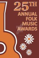 Folk Music Awards Invite by NSharkeyArt