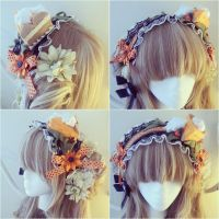 Pumpkin Cake Headband by NoFlutter
