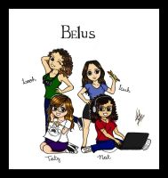 Belus Girls colored by NatBelus
