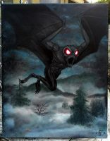 The Mothman by lxixska
