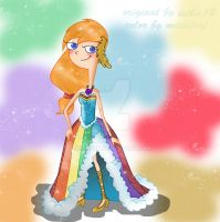 RAINBOW DASH CANDACE by michipnf