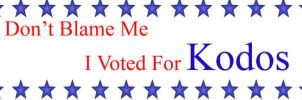 I voted for Kodos by Flectarn