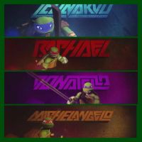 TMNT by artgamerforever