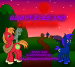 Bright Eyes and Red Apples: Comic Cover by marioandsonicFTW